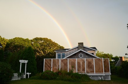 Edgartown Martha's Vineyard vacation rental - Rainbows Appear Often Over My House On The Hill
