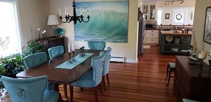 Edgartown Martha's Vineyard vacation rental - Large Dining Room Seats 10 Comfortably