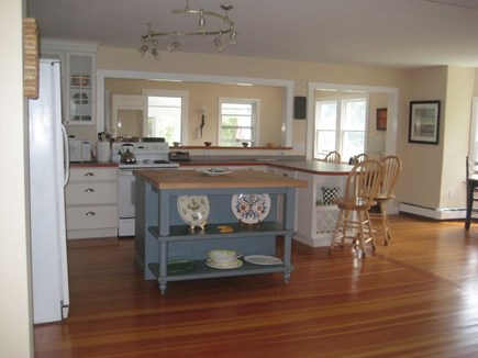 Edgartown Martha's Vineyard vacation rental - Cooks Open Kitchen - The Heart of the House