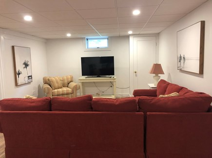 Katama - Edgartown Martha's Vineyard vacation rental - New Basement TV Area