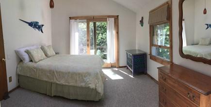 West Tisbury Martha's Vineyard vacation rental - Bedroom 2 - queen bed and deck