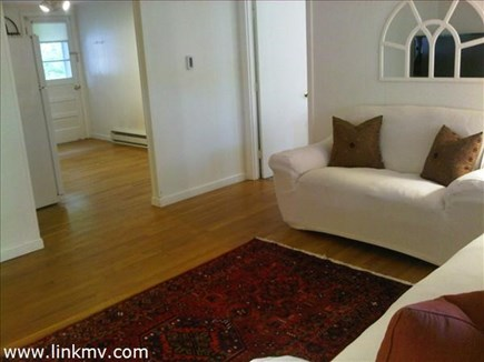 Vineyard Haven Martha's Vineyard vacation rental - Living room with view to the kitchen