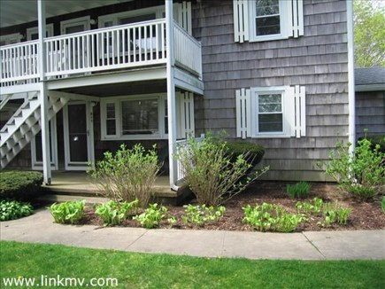 Vineyard Haven Martha's Vineyard vacation rental - Another view of the condo with a shaded welcoming front porch