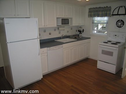 Vineyard Haven Martha's Vineyard vacation rental - Updated kitchen has a dining area too