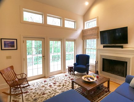 Vineyard Haven Martha's Vineyard vacation rental - Another view of the living room.