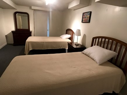 Vineyard Haven Martha's Vineyard vacation rental - Lower level twin guest room