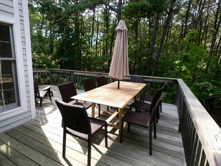 Vineyard Haven Martha's Vineyard vacation rental - Another view of the deck