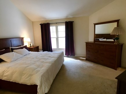 Vineyard Haven Martha's Vineyard vacation rental - Master with king bed, flat screen TV, and walk-in closet