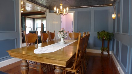 Oak Bluffs Martha's Vineyard vacation rental - Dining for 8