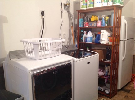 Katama - Edgartown Martha's Vineyard vacation rental - Washer, Dryer, iron,ironing board, extra refrigerator.