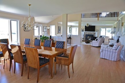 Katama - Edgartown Martha's Vineyard vacation rental - Open dining area