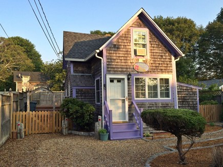 Oak Bluffs Martha's Vineyard vacation rental - Front view. One car off street parking and fenced yard.