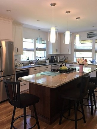Katama - Edgartown, Edgartown Martha's Vineyard vacation rental - Wide open eat-in kitchen