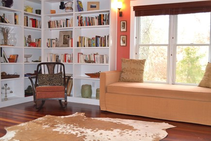 West Tisbury Martha's Vineyard vacation rental - Library area