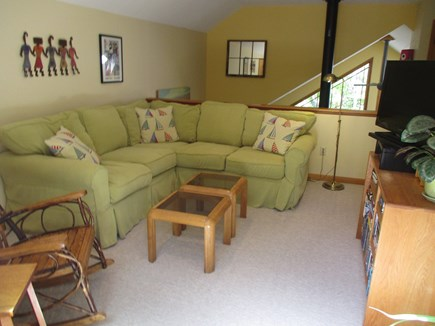Katama - Edgartown Martha's Vineyard vacation rental - Upstairs loft area also has access to upper deck.