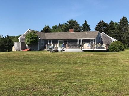 Chilmark Martha's Vineyard vacation rental - Back Deck