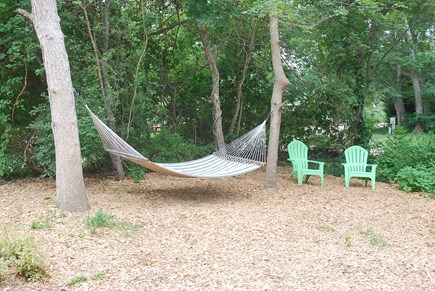 Oak Bluffs Martha's Vineyard vacation rental - Shady Hammock Nook to curl up with a good book