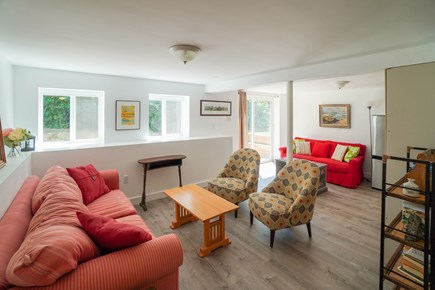 Oak Bluffs Martha's Vineyard vacation rental - Finished lower level offer 2nd TV room and space to spread out.