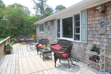 Oak Bluffs Martha's Vineyard vacation rental - Large front deck for lounging and relaxing