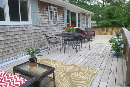 Oak Bluffs Martha's Vineyard vacation rental - Another image of front deck, Awning on deck will be installed