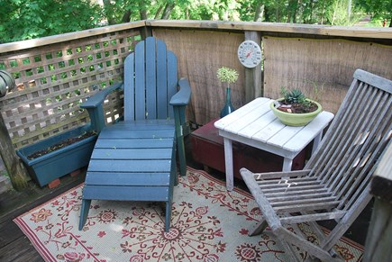 Oak Bluffs Martha's Vineyard vacation rental - Treetop deck. Great for hanging out.