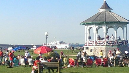 Oak Bluffs  Martha's Vineyard vacation rental - 7 min. walk to the Ocean Park for summer concerts and kite flying