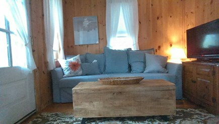 Oak Bluffs  Martha's Vineyard vacation rental - Comfortable deep sofa seating, Cable TV, smart Blu-ray player