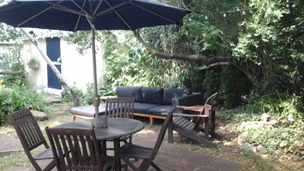 Oak Bluffs  Martha's Vineyard vacation rental - Enjoy the outdoors with your favorite beverage or book.