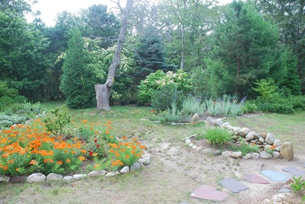 Oak Bluffs Martha's Vineyard vacation rental - Spacious, private yard with gardens