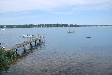 Oak Bluffs Martha's Vineyard vacation rental - Beach and Shared Dock. Come kayak and go clamming.