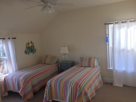 Oak Bluffs, East Chop Martha's Vineyard vacation rental - XL twin beds in guest room #1.