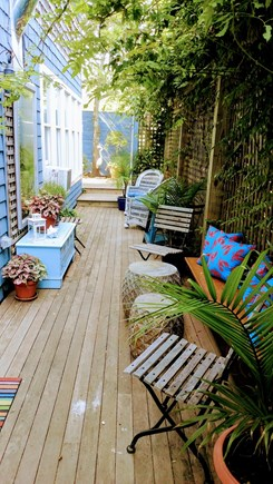 Oak Bluffs Martha's Vineyard vacation rental - Outdoor lounge
