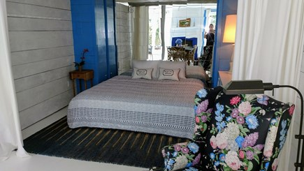 Oak Bluffs Martha's Vineyard vacation rental - King bed, curtained alcove