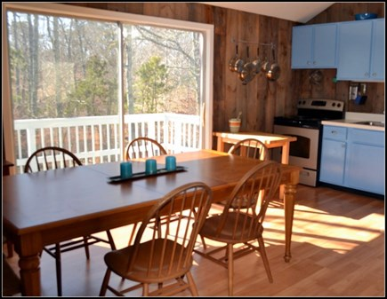 Chilmark Martha's Vineyard vacation rental - Open, airy interior surrounded by wraparound deck.