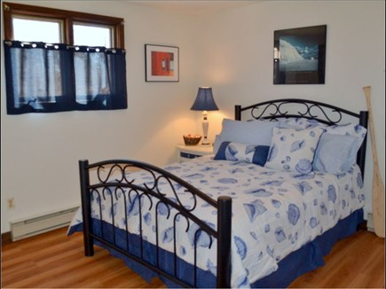 Chilmark Martha's Vineyard vacation rental - First floor bedroom with double bed.