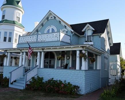 Oak Bluffs Martha's Vineyard vacation rental - Charming Victorian overlooking picturesque Ocean park & the ocean