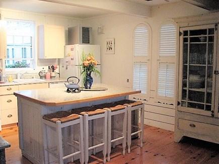 Oak Bluffs Martha's Vineyard vacation rental - Modern kitchen with breakfast bar
