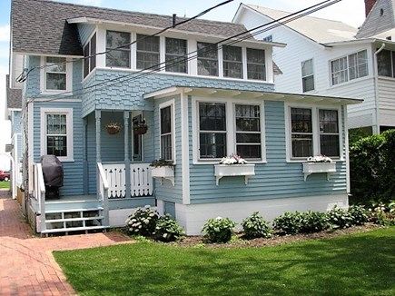 Oak Bluffs Martha's Vineyard vacation rental - Back side of the house with parking for 3 cars.