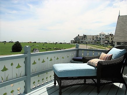 Oak Bluffs Martha's Vineyard vacation rental - Panoramic views from second floor balcony off the master bedroom
