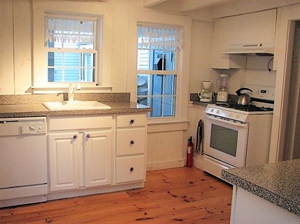 Oak Bluffs Martha's Vineyard vacation rental - Kitchen in back house