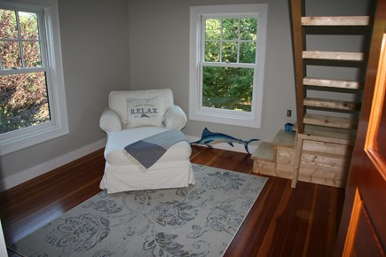 Edgartown Martha's Vineyard vacation rental - Loft bedroom sitting area
