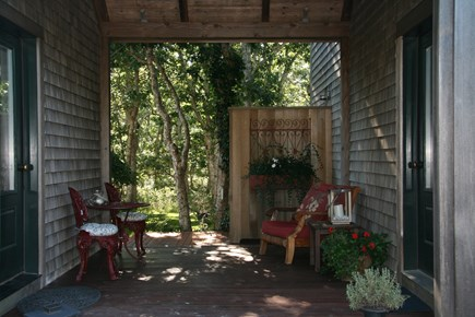 Edgartown Martha's Vineyard vacation rental - Breezeway