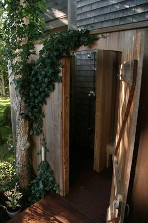 Edgartown Martha's Vineyard vacation rental - Outdoor shower