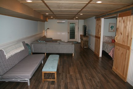 Edgartown Martha's Vineyard vacation rental - Finished basement with living room and bedroom
