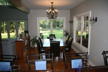 Edgartown Martha's Vineyard vacation rental - Dining area between kitchen and living room