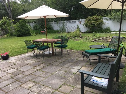 Oak Bluffs, East Chop Martha's Vineyard vacation rental - Patio with garden
