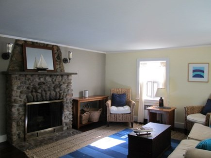 Oak Bluffs Martha's Vineyard vacation rental - Wood burning fireplace inliving room