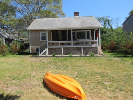 Oak Bluffs Martha's Vineyard vacation rental - Back porch, yard