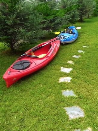 Oak Bluffs Martha's Vineyard vacation rental - Kayaks at the ready