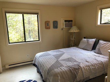 Katama - Edgartown, Edgartown Martha's Vineyard vacation rental - 1st fl BR #1 (queen) central A/C unit to right of picture view.